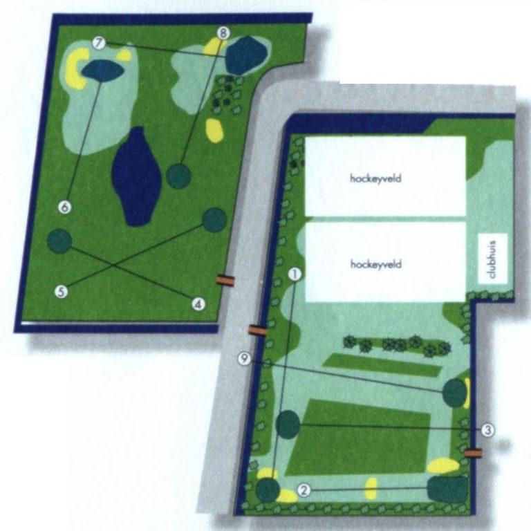 Golfbaan Overzicht