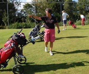 Een spelletje golf